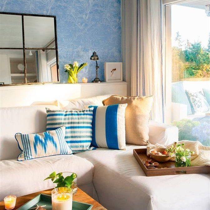 Combinar colores salon salones modernos y clidos decorar for Decoracion de interiores guadalajara