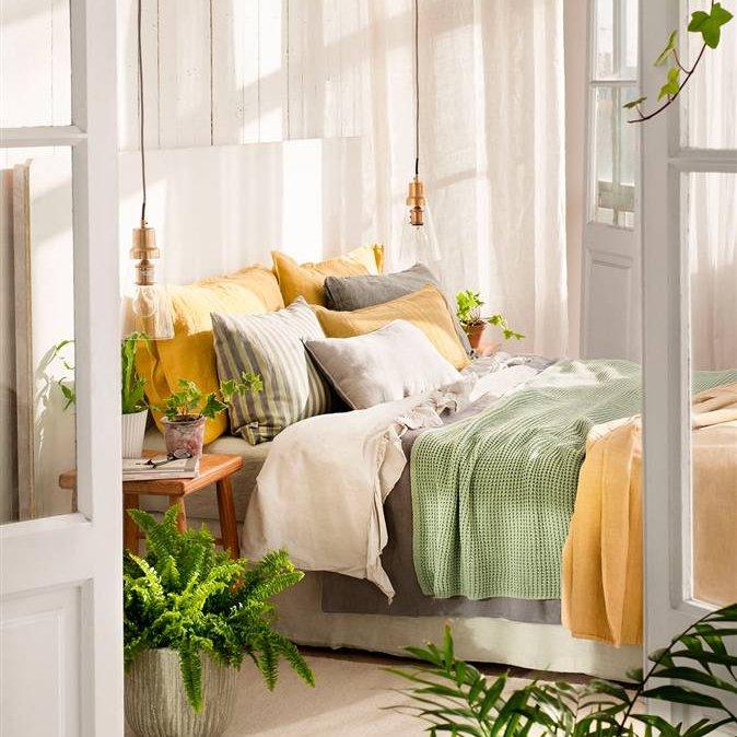 Duerme que da gusto for Lampara techo habitacion
