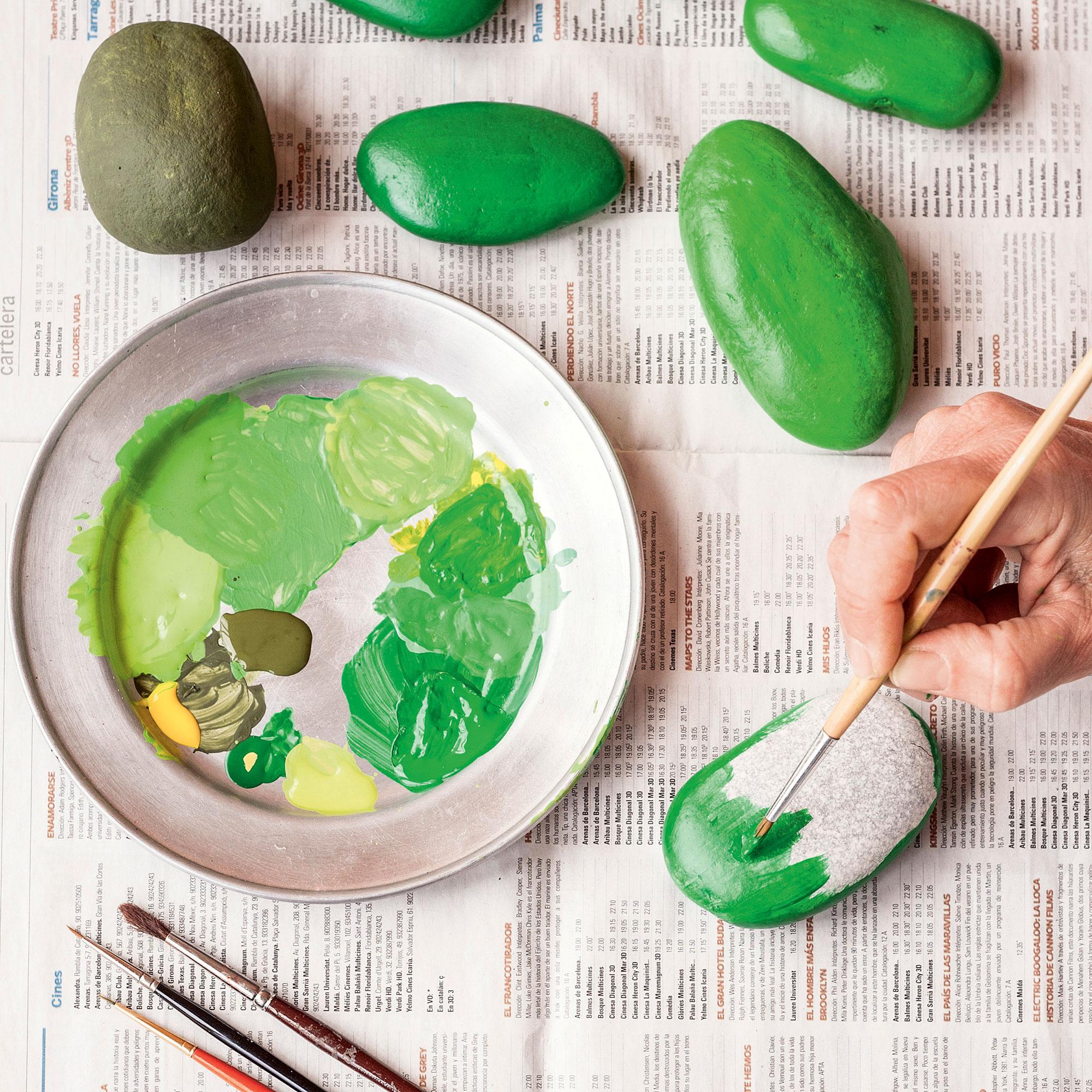 Cactus s per resistentes hechos con piedras for Como hacer color piedra