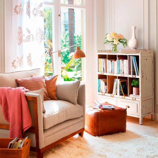 Crea un rinc n de lectura en solo 2 m2 - Butacas pequenas para salon ...