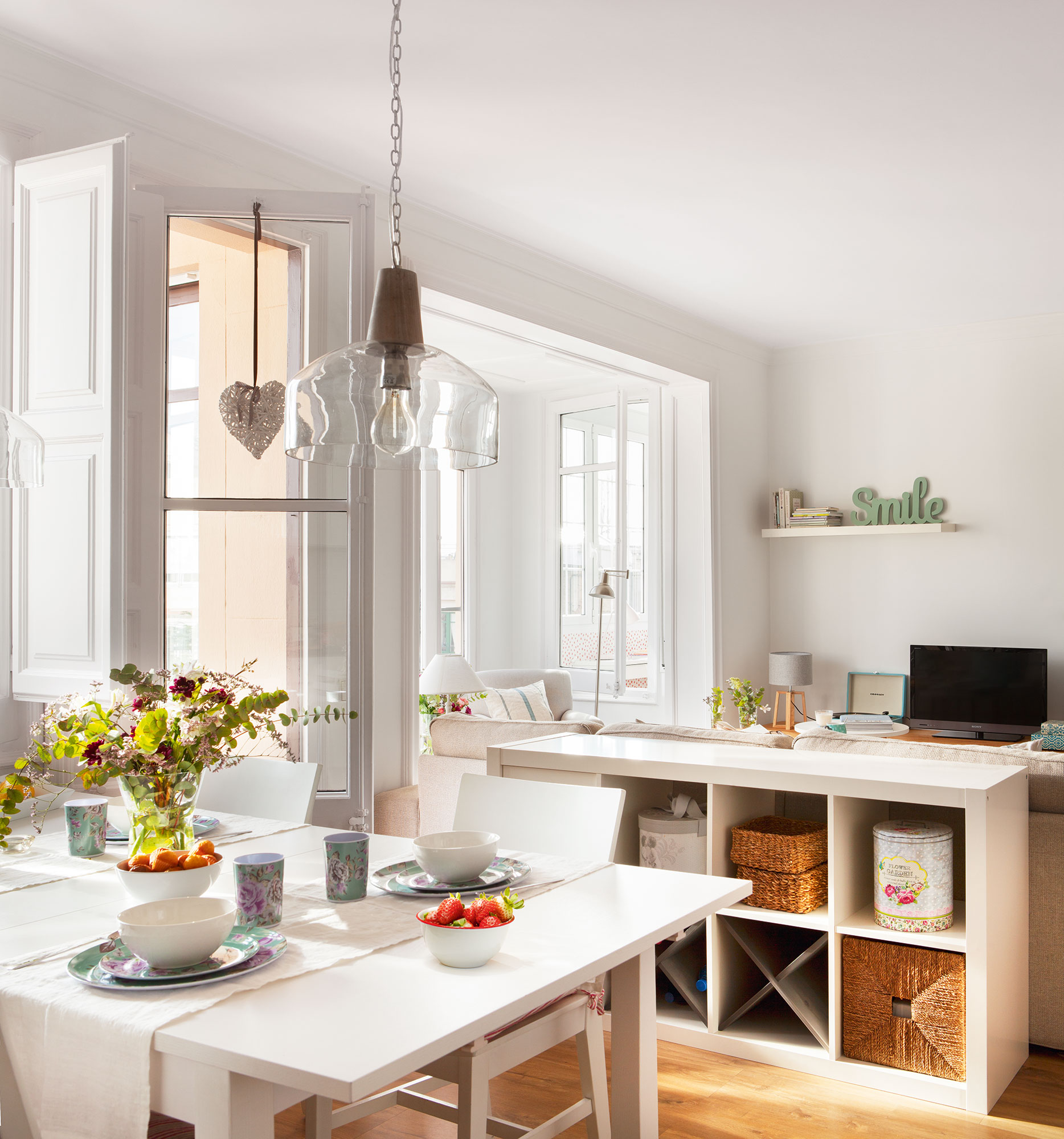 Seis lecciones que esta holandesa nos puede ense ar en su piso - Caminos de mesa ikea ...