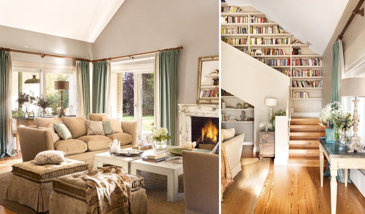Renovar la casa for Salones con escaleras interiores