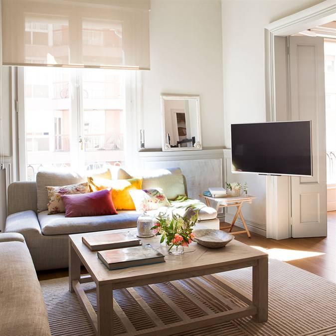 D nde poner la tele consejos para saber d nde colocar la for Como colocar los muebles del salon