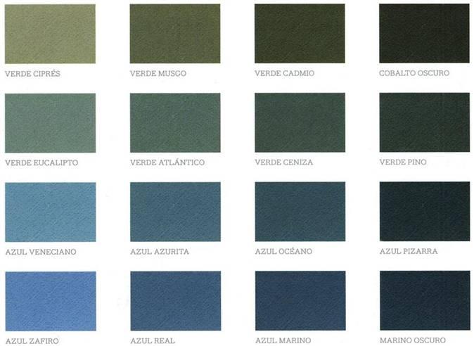 Colores fr os refresca tu casa con la pintura - Gamas de colores azules ...