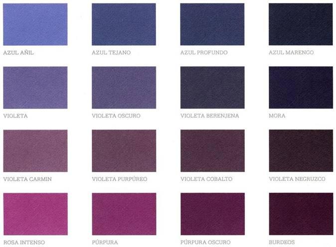 Colores fr os refresca tu casa con la pintura - Gama de colores morados ...
