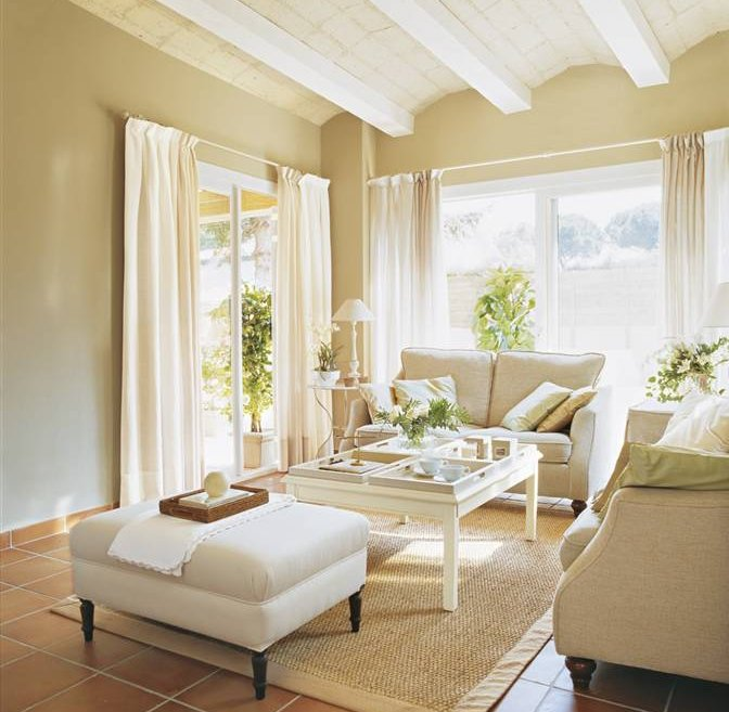 Pinturas decoracion salones best decoracin de paredes con for Pintura beige pared