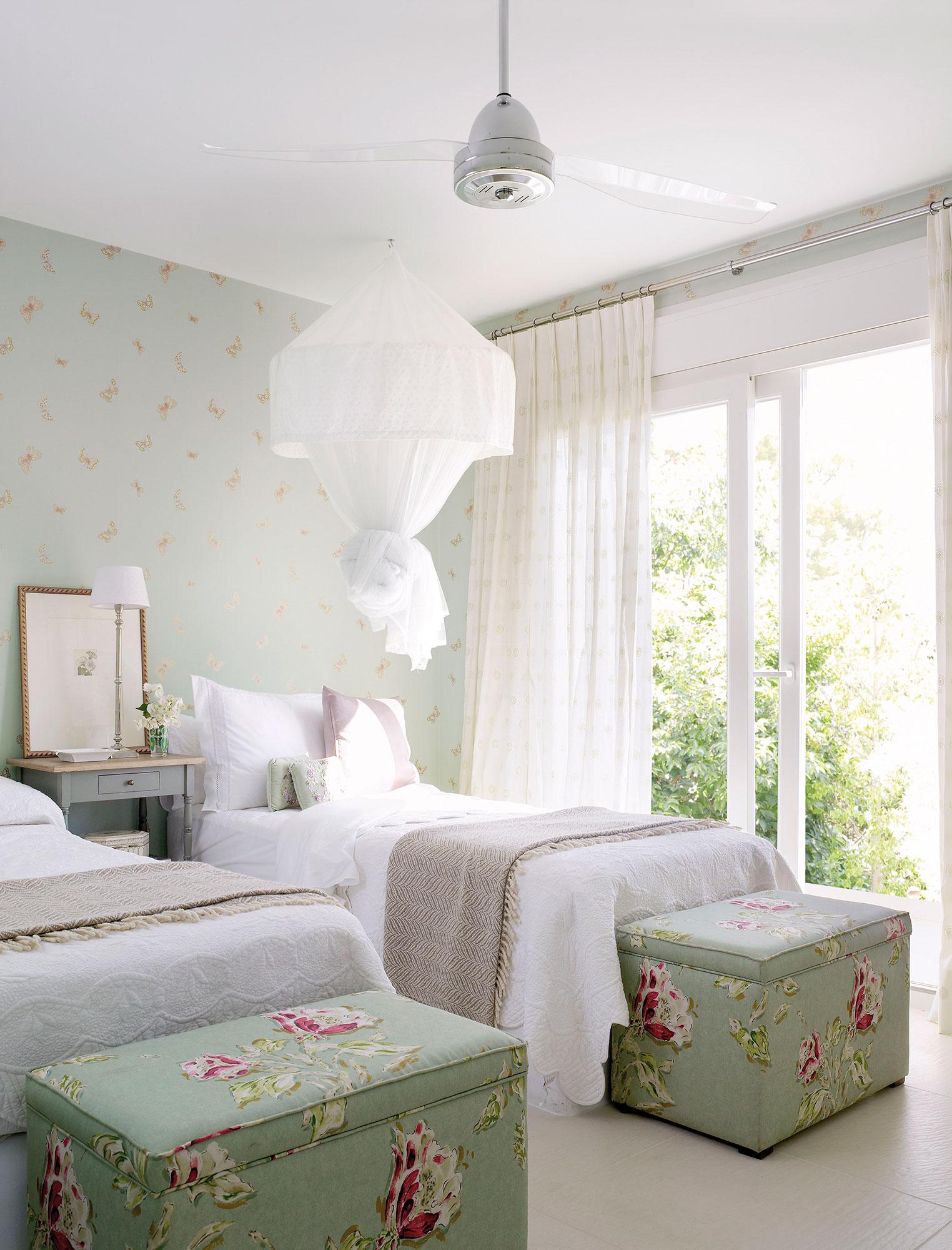 C mo elegir la cortina perfecta para cada ventana - Baules para dormitorios ...