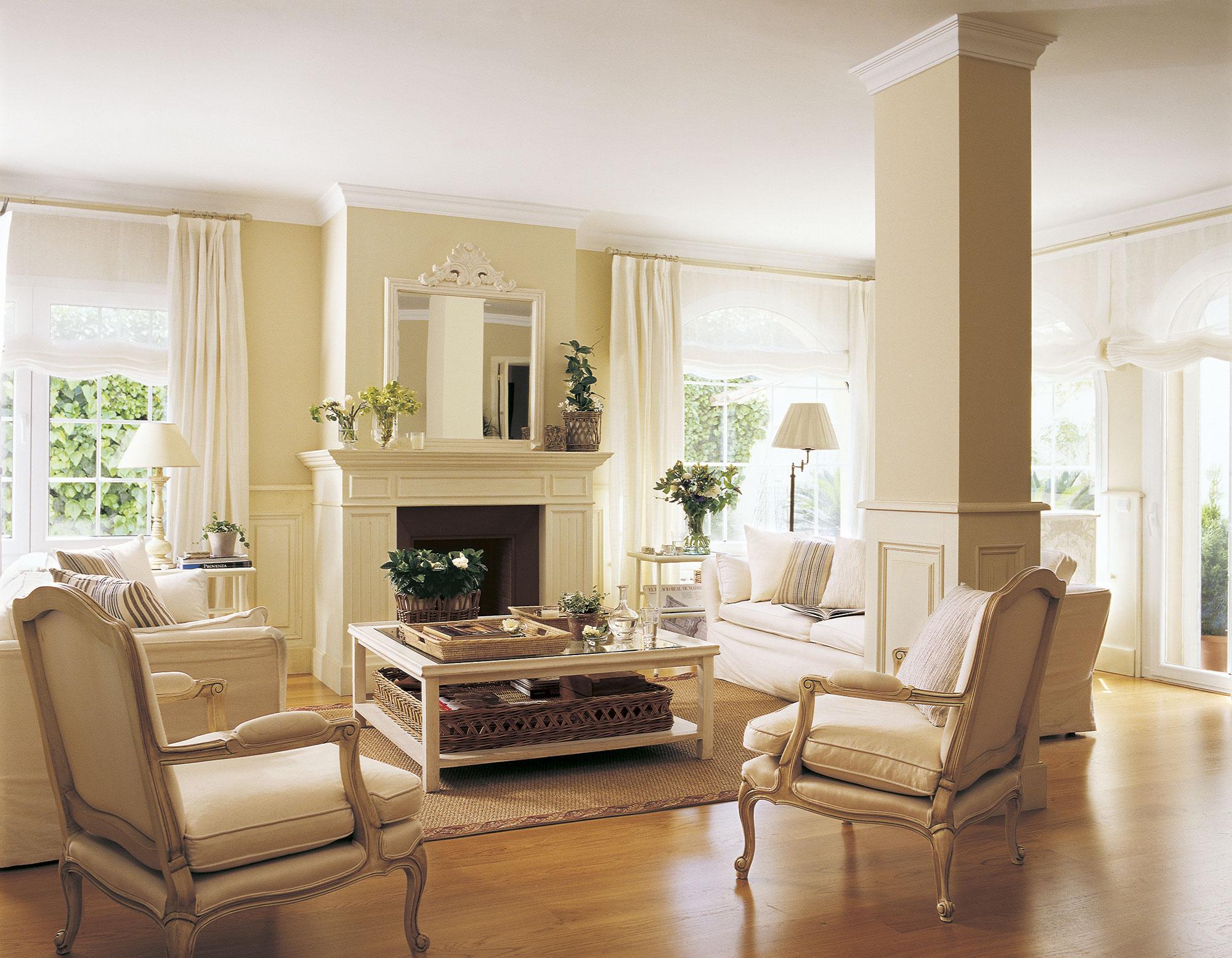 Los mejores 50 salones de el mueble - Salon comedor clasico ...