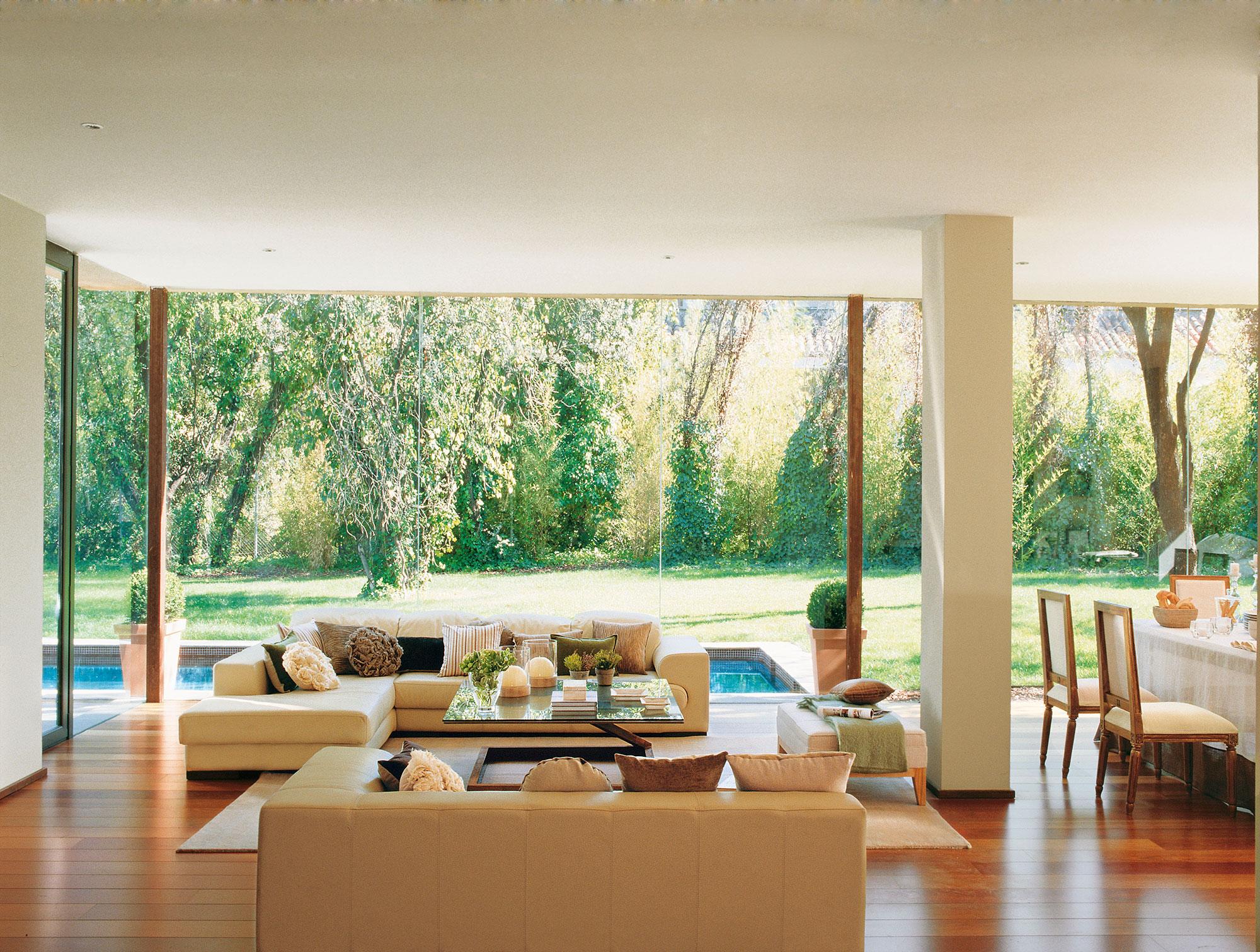 Los mejores 50 salones de el mueble for Disenos para paredes
