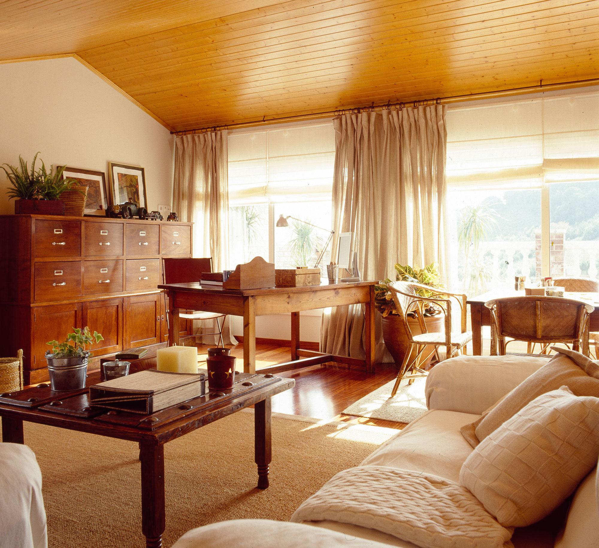 Los Mejores 50 Salones De El Mueble - Salon-madera