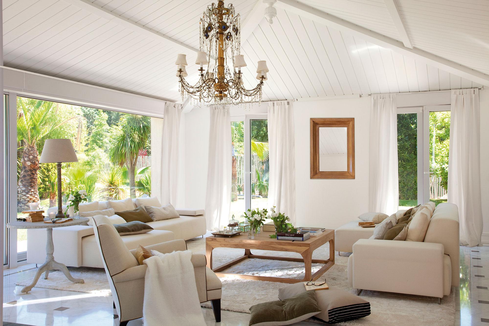 Los mejores 50 salones de el mueble - Lamparas para salones modernos ...