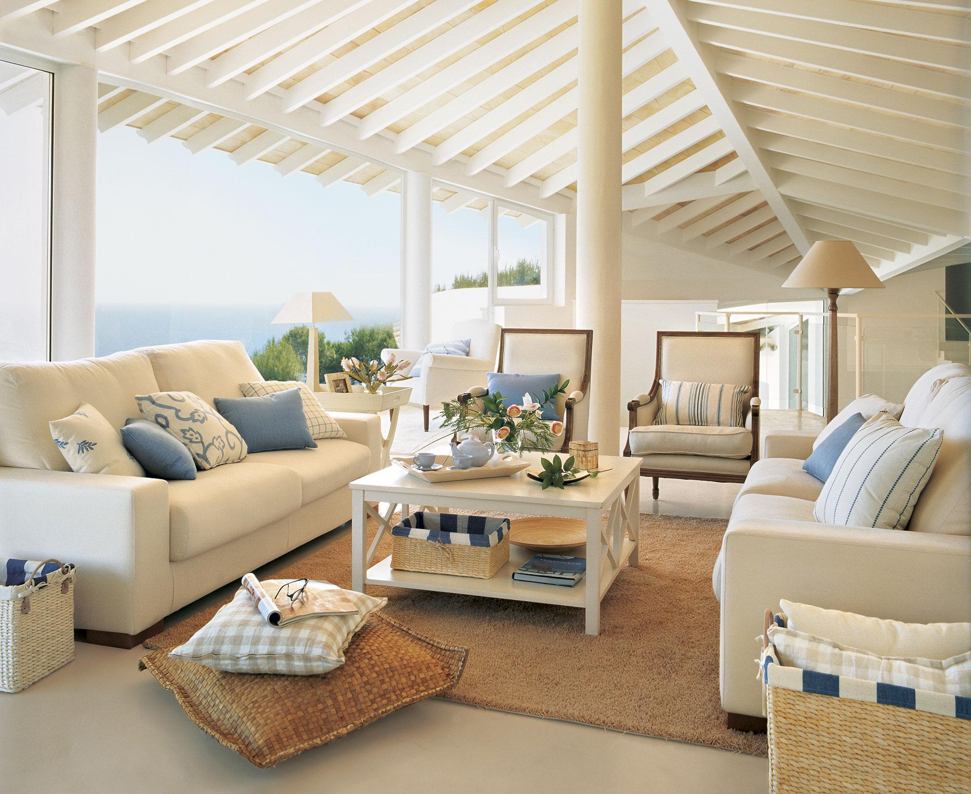 Revistas decoracion salones affordable decorar el salon - Decoracion salones en blanco ...
