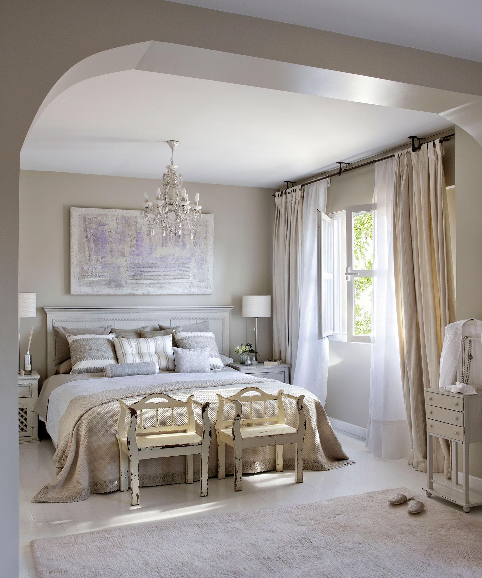 30 ideas para renovar tu casa con un bajo presupuesto for Tonos grises para dormitorio
