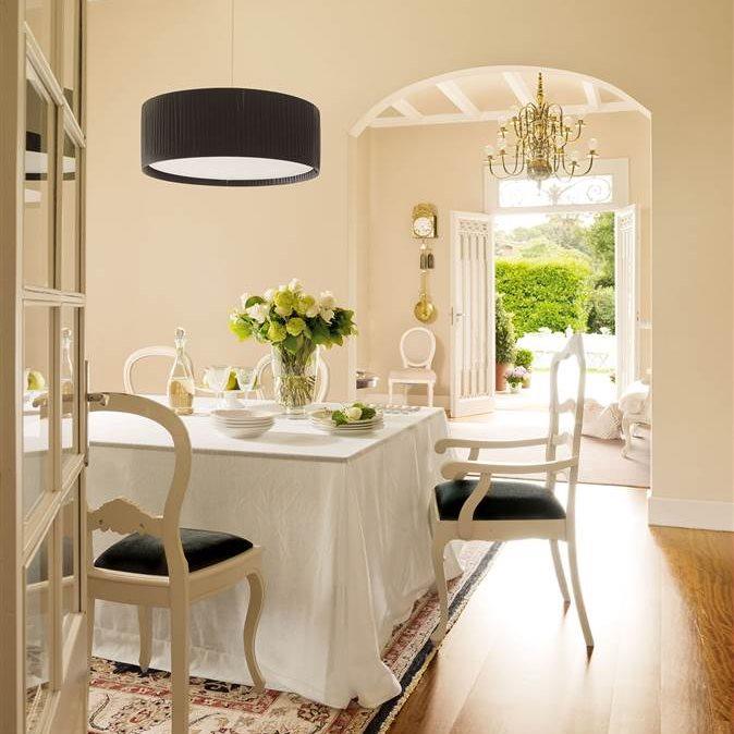 30 ideas para renovar tu casa con un bajo presupuesto - Lamparas de entrada ...