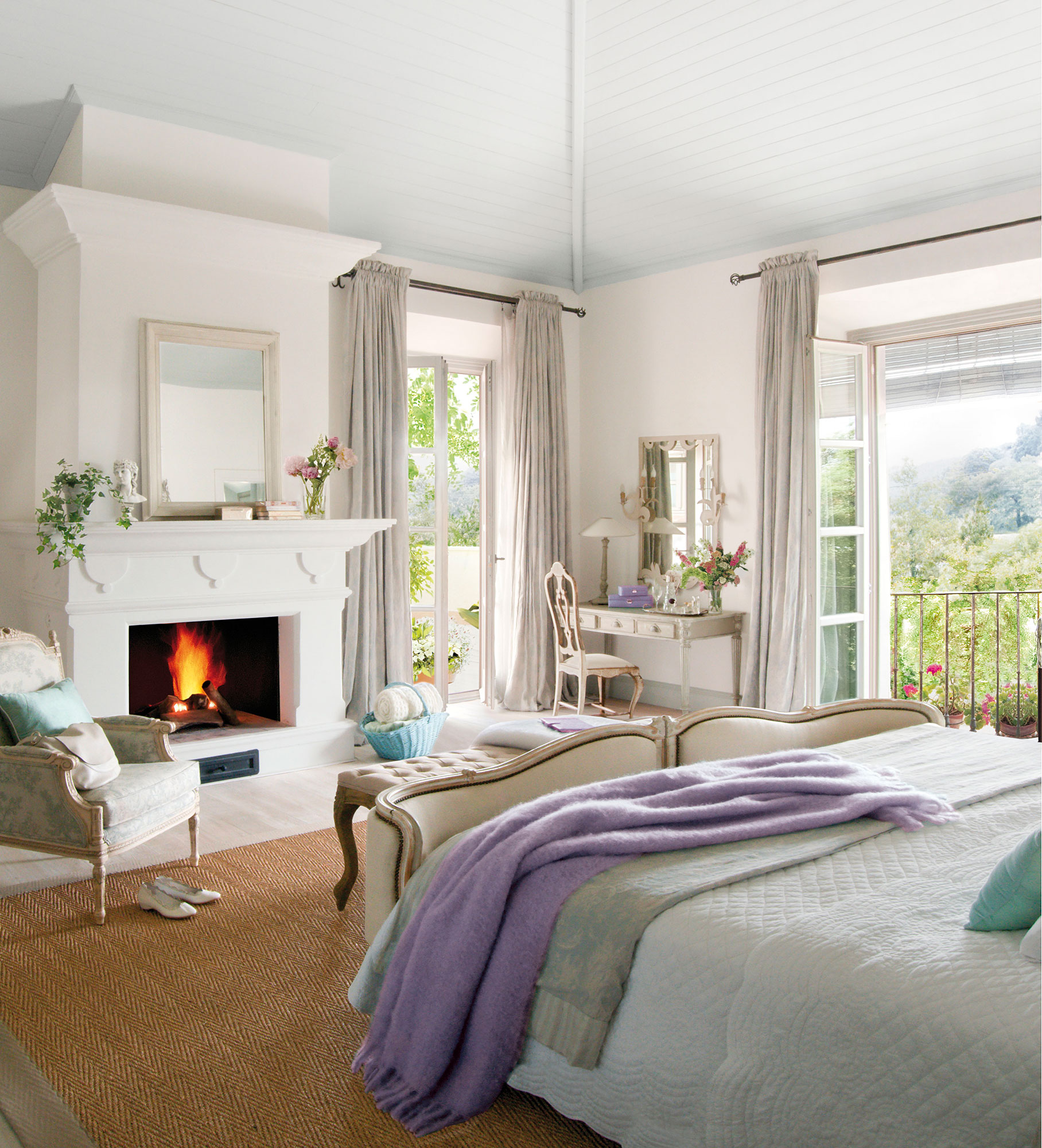 Los Mejores Dormitorios Rom Nticos # Muebles Para Buardillas