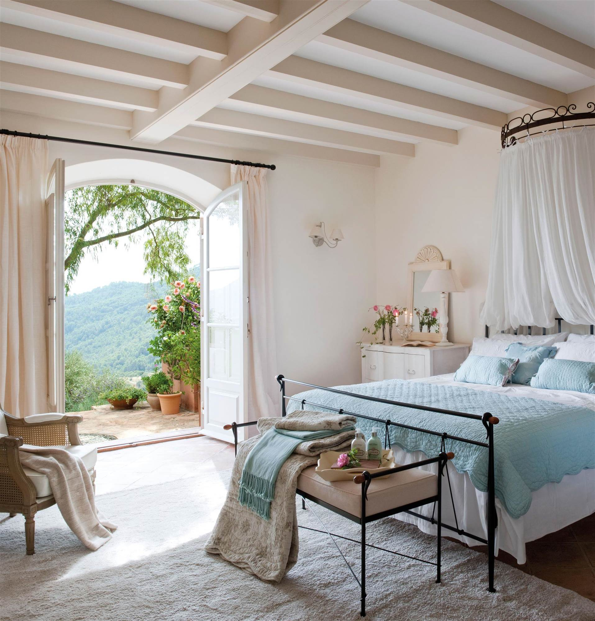 Los Mejores Dormitorios Rom Nticos ~ Como Decorar Una Habitacion Pequeña