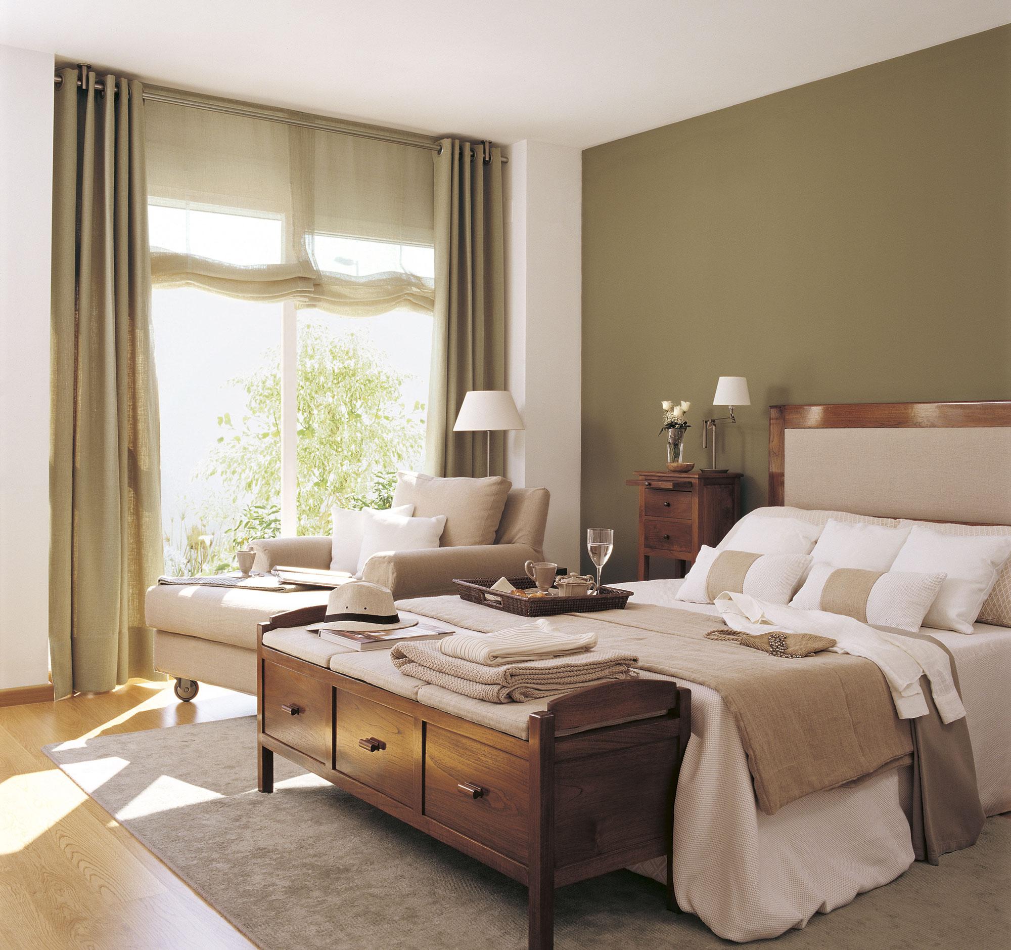 Pintura cambia tu casa con los efectos del color - Muebles color cerezo como pintar paredes ...