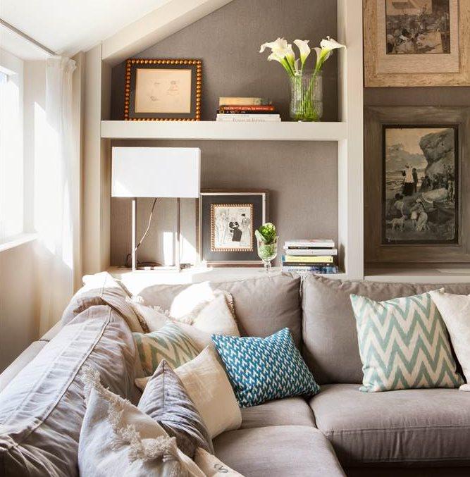 Salones cinco errores cinco soluciones for Decoracion salon con sofa gris