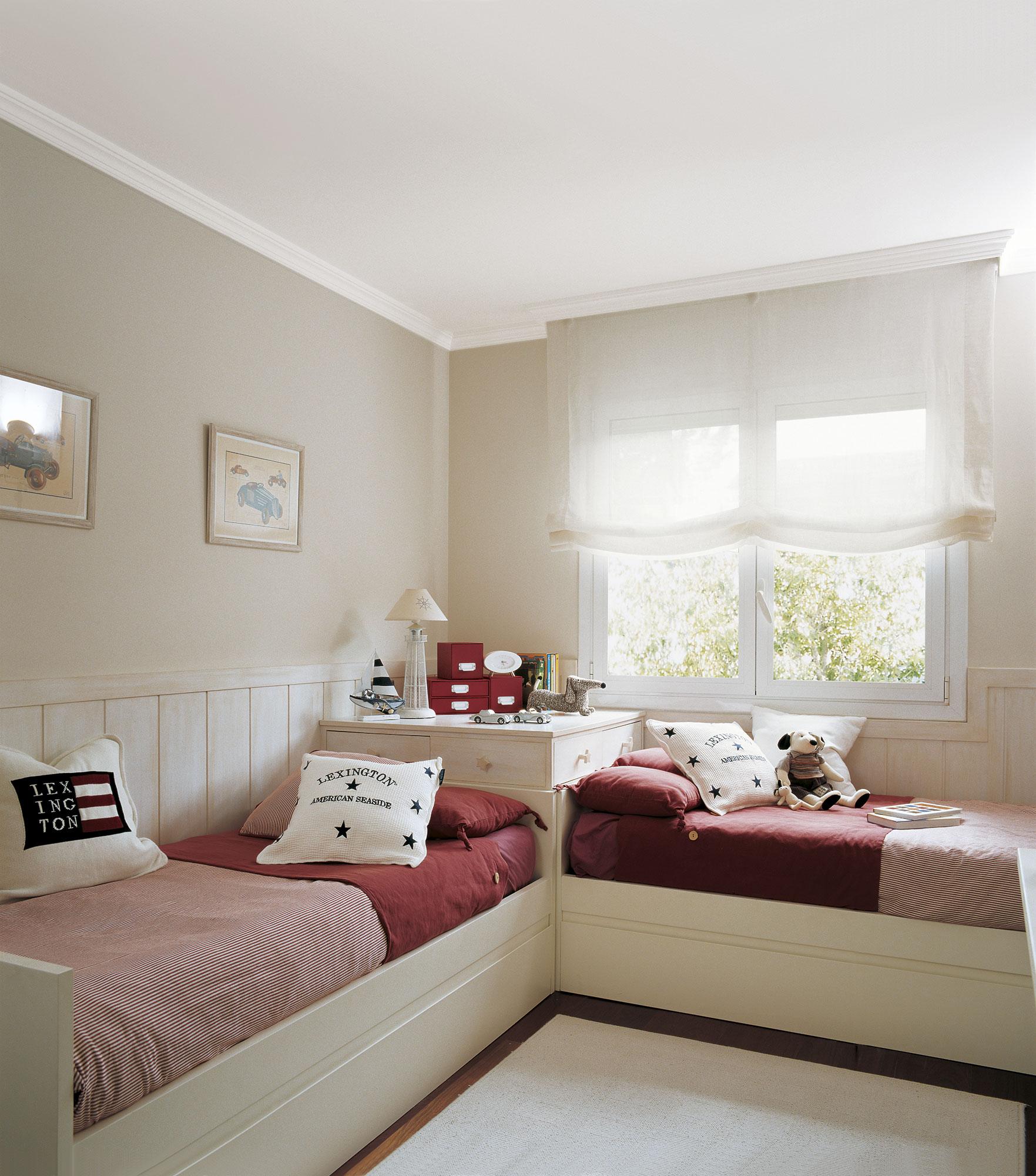 30 habitaciones para m s de dos ni os con buenas ideas for Ideas para decorar cuarto de jovenes