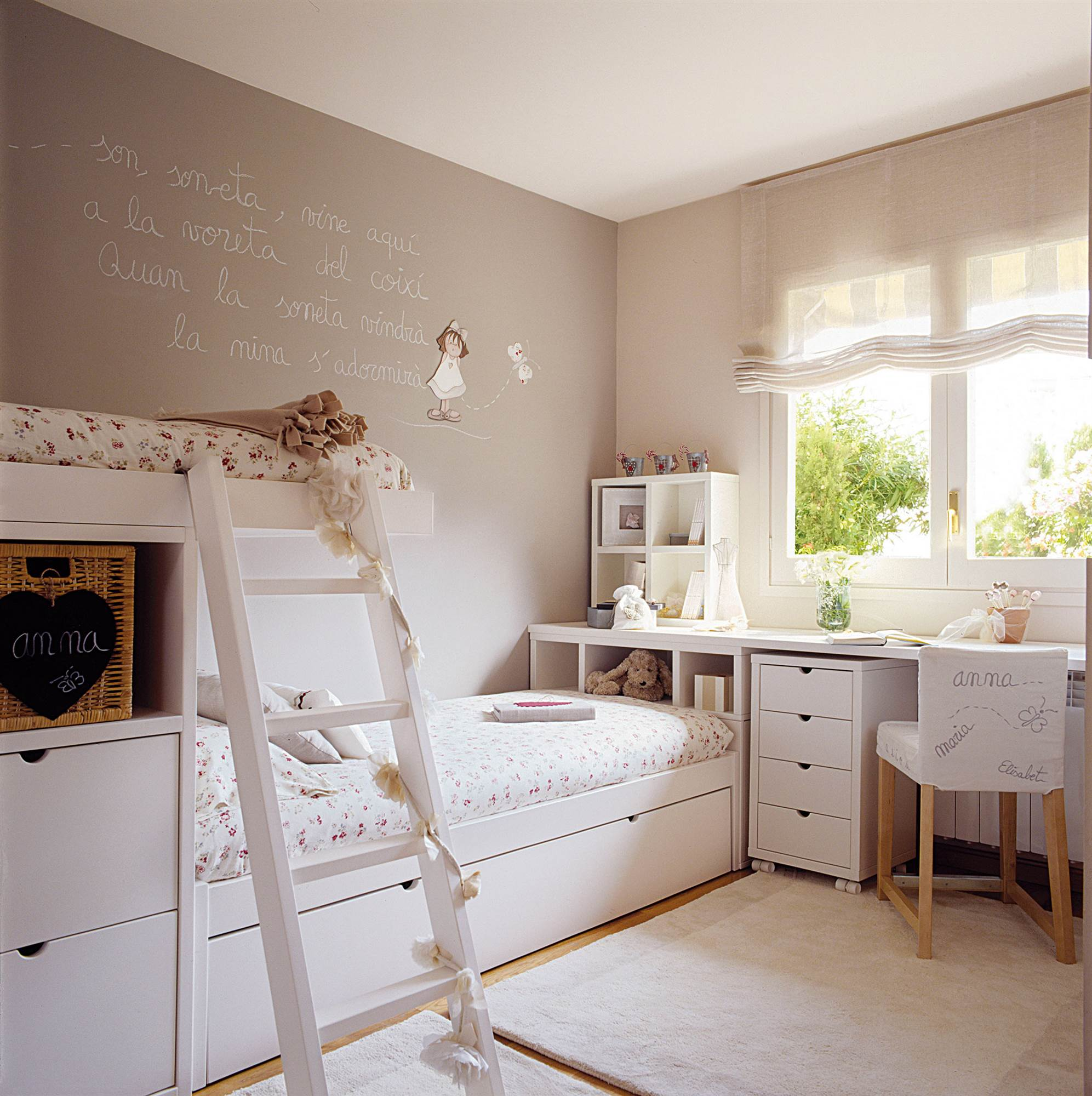 30 habitaciones para m s de dos ni os con buenas ideas for Habitaciones infantiles dobles ikea