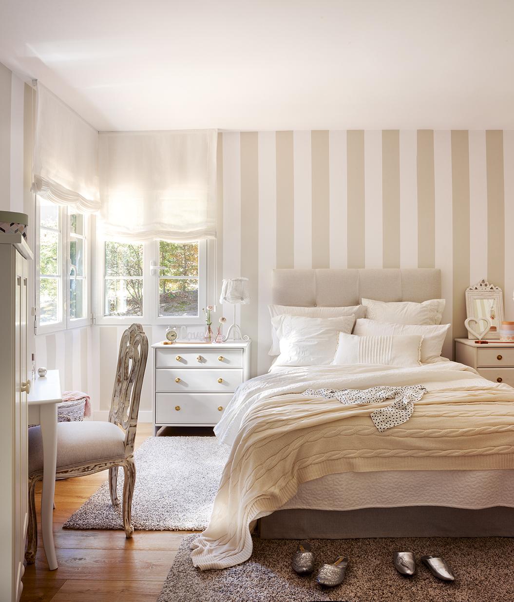 Un sueco de coraz n for Cabeceros de cama con papel pintado