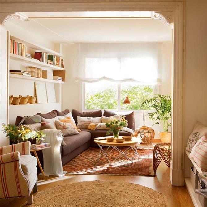 Un piso familiar reformado para ganar luz y comodidad for La casa tiene un techo