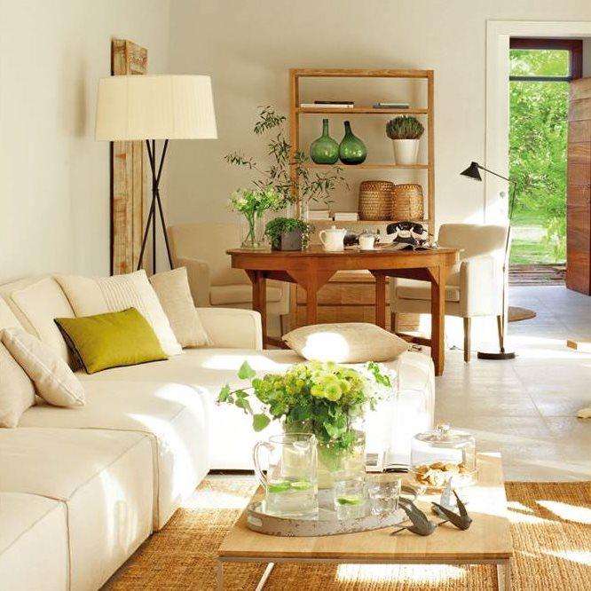 12 buenas ideas para decorar el sal n con estilo - Decorar un rincon del salon ...