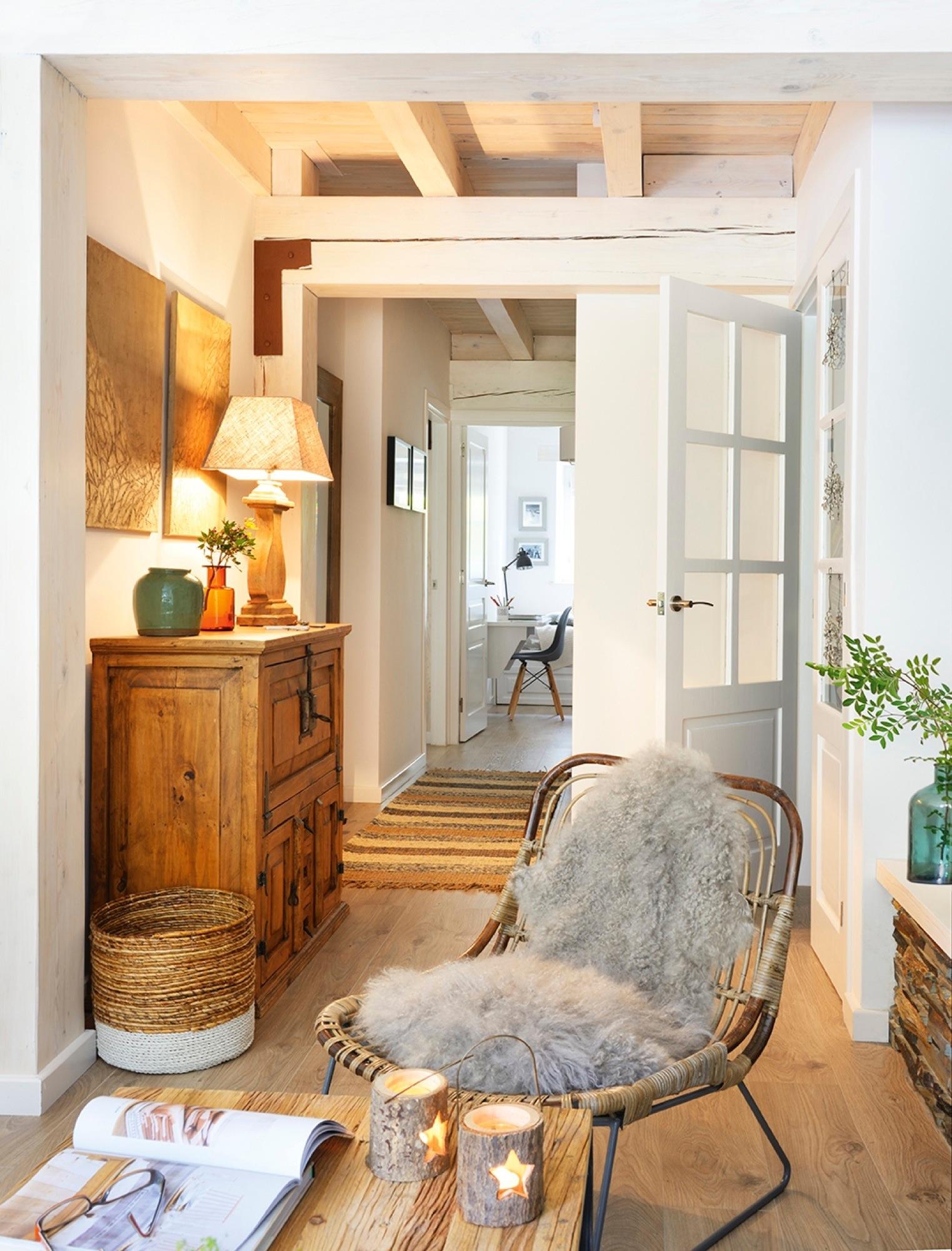 Recibidores los mejores 50 de el mueble - Mueble recibidor rustico ...