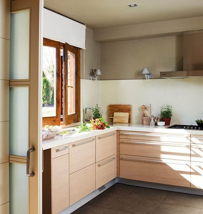 Consejos para la distribuci n de los muebles for Distribuir cocina cuadrada
