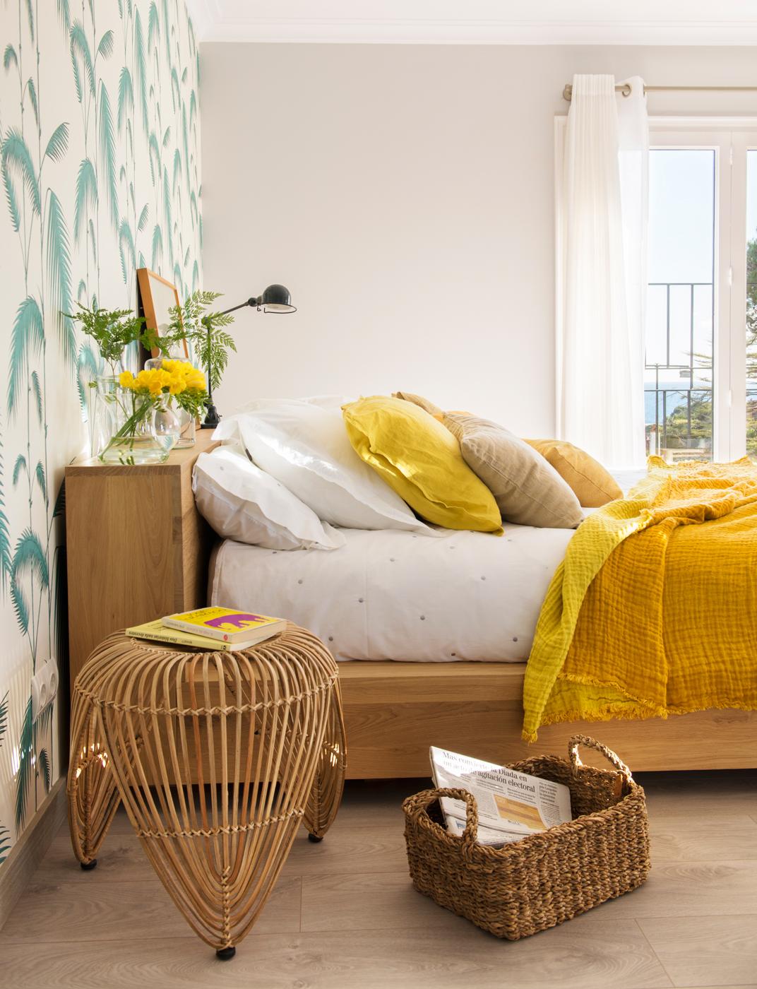 Mesillas de noche para el dormitorio for Papel de pared dormitorio