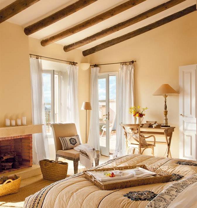 Dormitorio hacia la zona de estudio