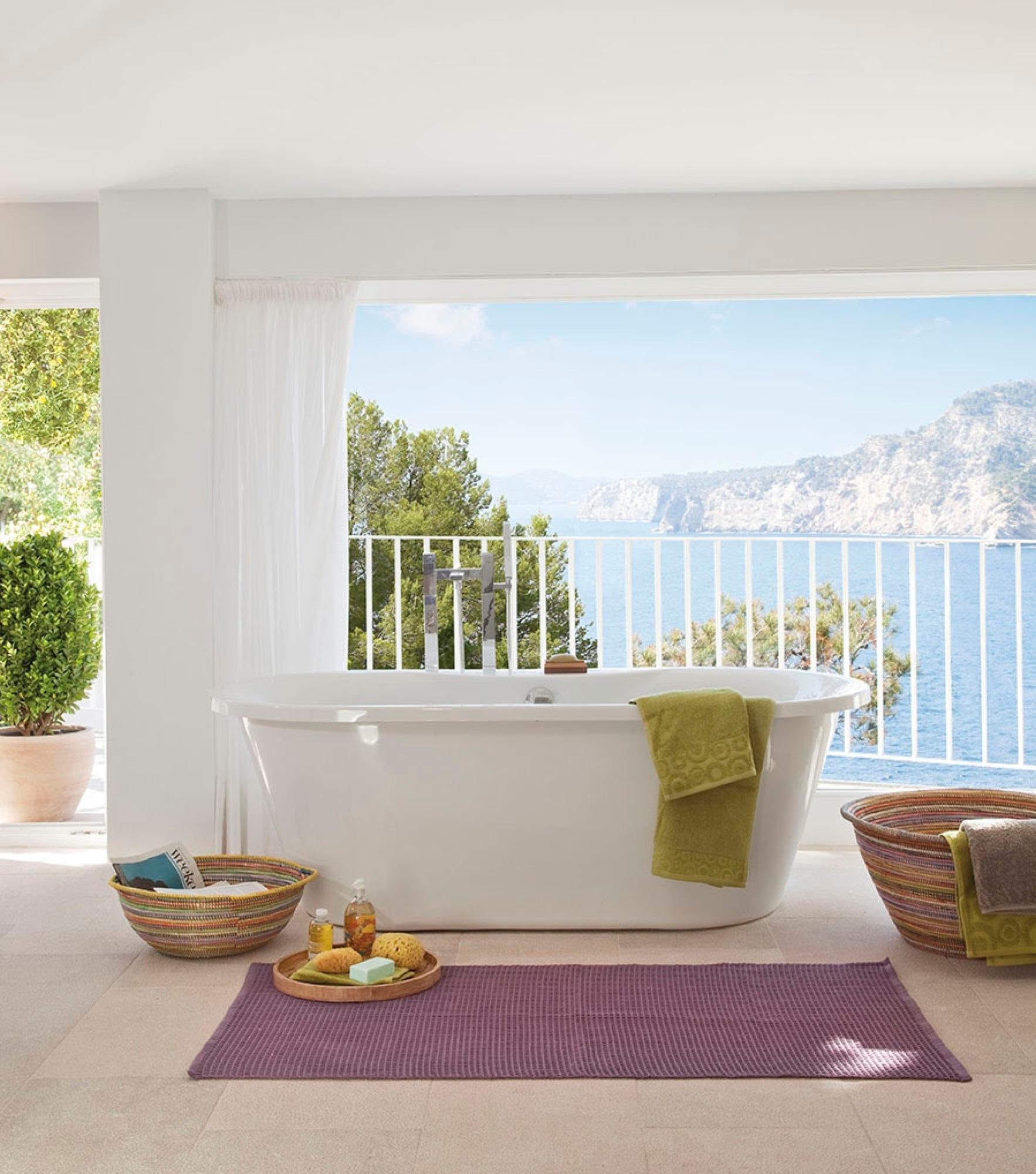 Ba os escandinavos los lavabos n rdicos for Baneras vistas