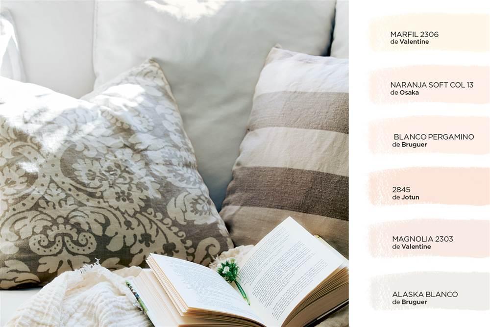 C mo elegir el color para tu casa for Pintura color lino