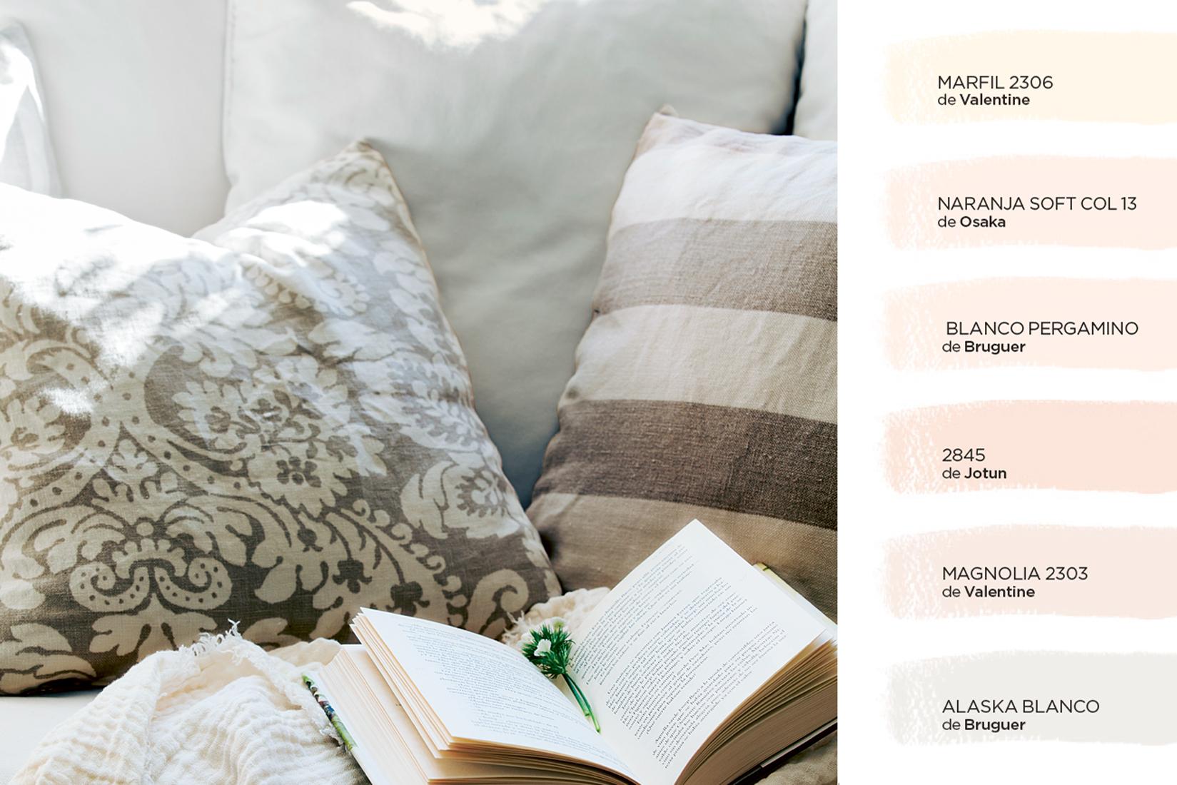C mo elegir el color para tu casa - Colores que combinan con el blanco en paredes ...