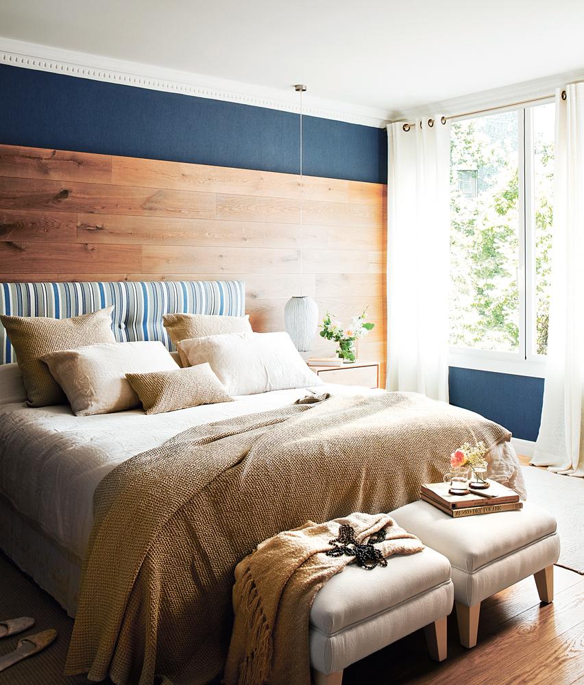 C mo elegir el color para tu casa for Dormitorio blanco y madera