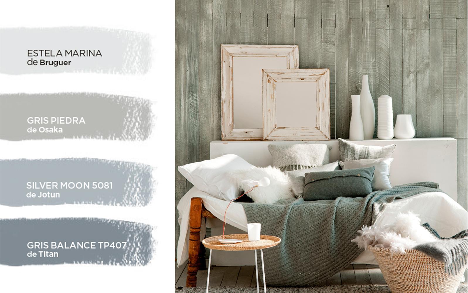C mo elegir el color para tu casa for Paleta de colores grises