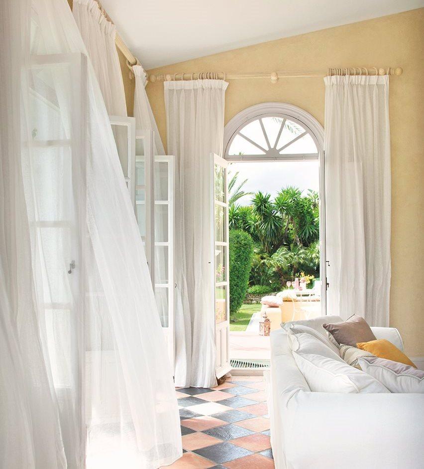 Cortinas interiores casa armarios con cortinas una idea - Cortinas interiores casa ...