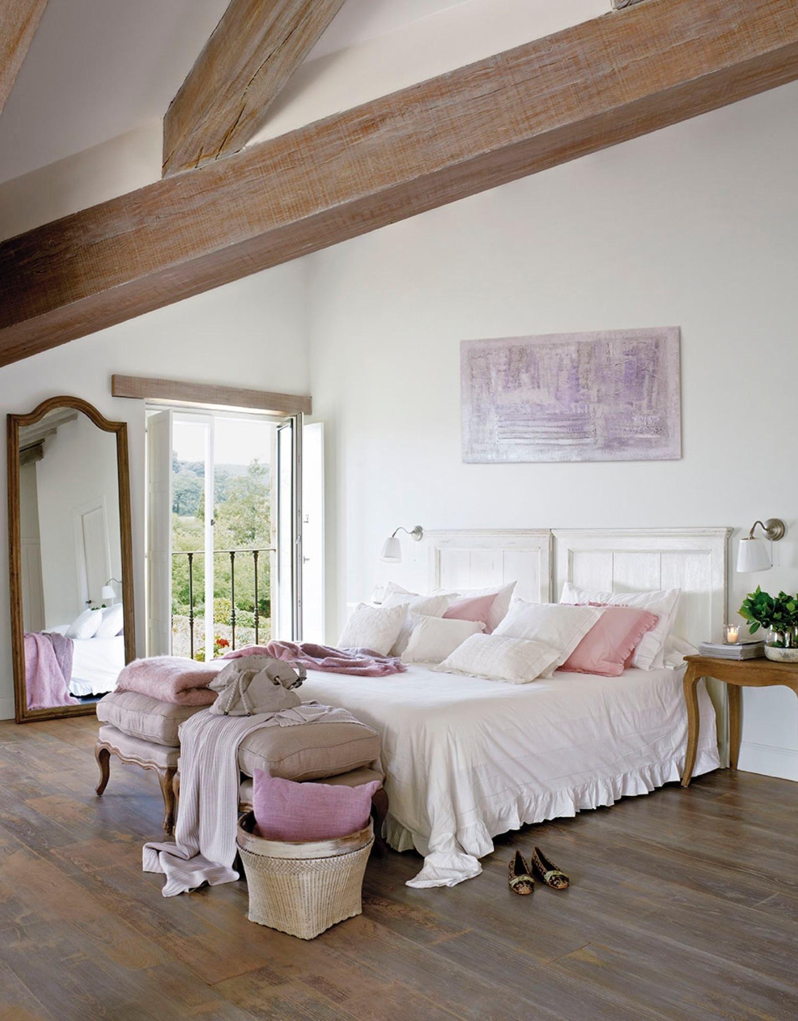 20 dormitorios r sticos con mucho encanto - Decoracion dormitorios rusticos ...