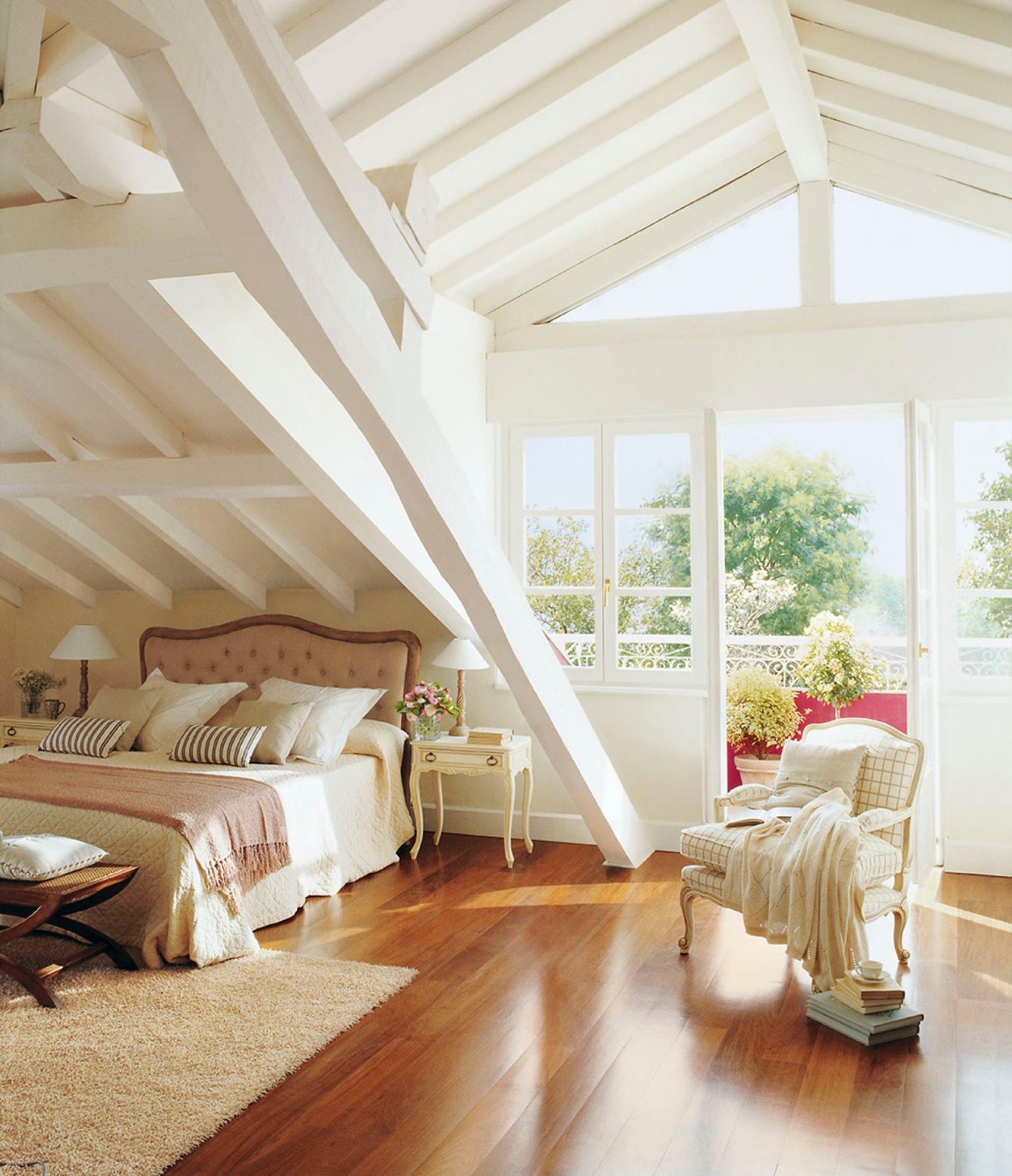 Decoracion habitacion rustica moderna simple dormitorios - Decoracion habitacion rustica ...