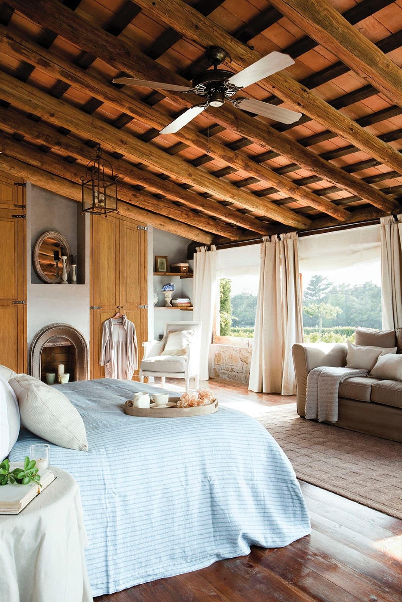 Dormitorios r sticos con mucho encanto for Decoracion rustica mexicana