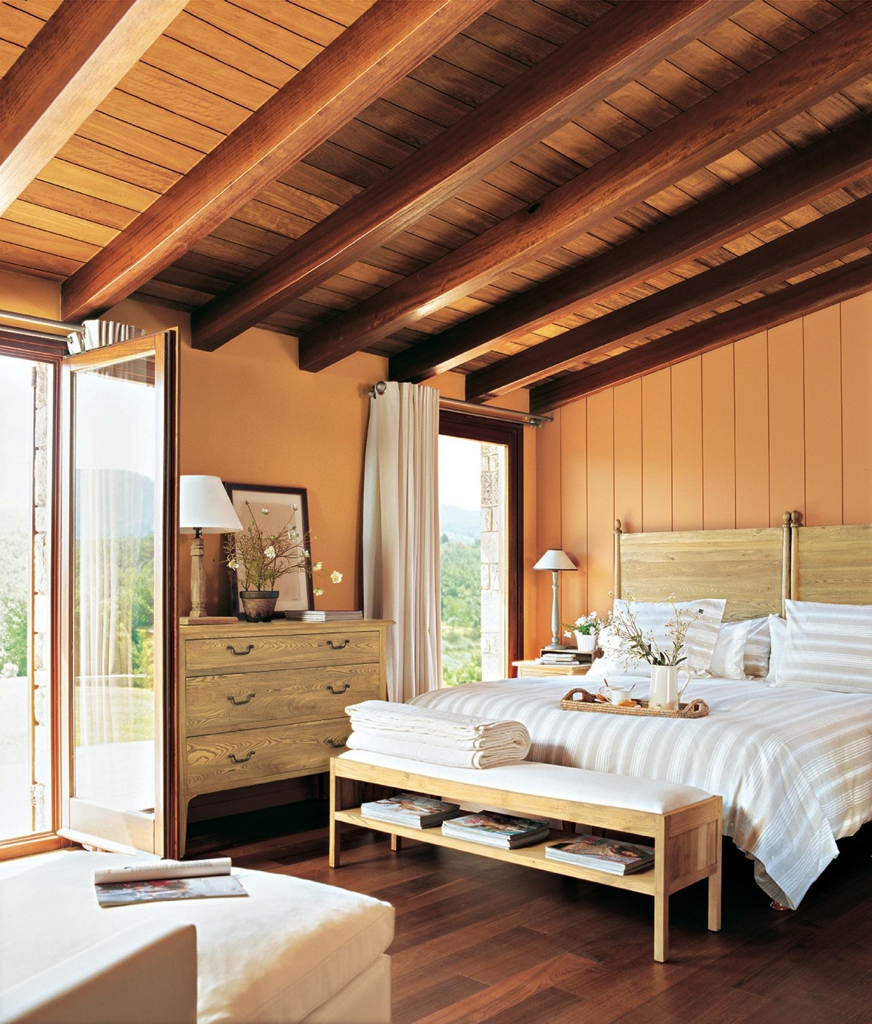 Dormitorios R Sticos Con Mucho Encanto
