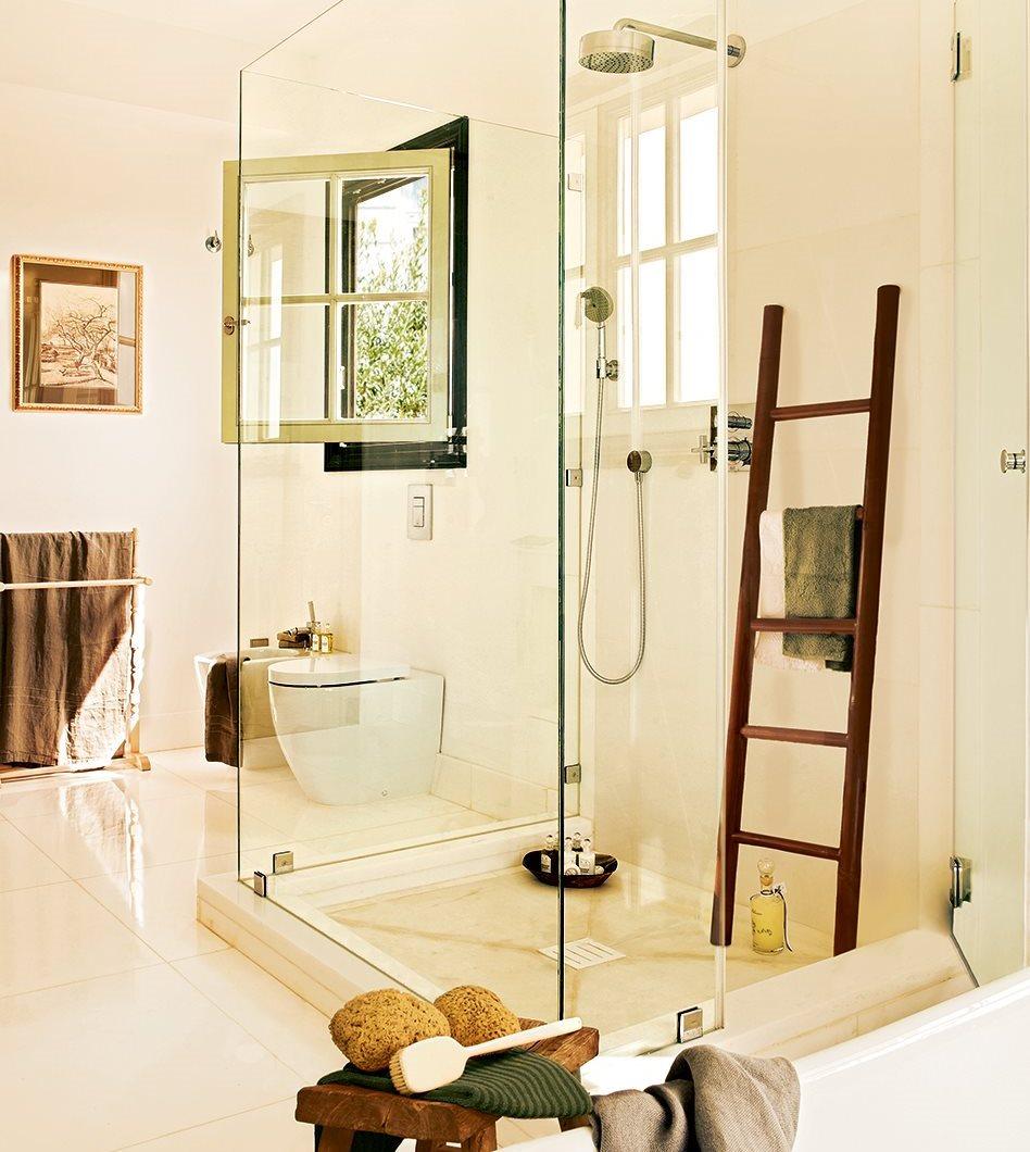C mo meter la ducha en el ba o - Banos con paredes de cristal ...