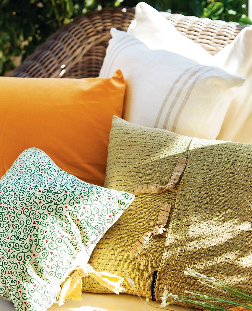 Ideas para redecorar tu casa - Cojines exterior ...