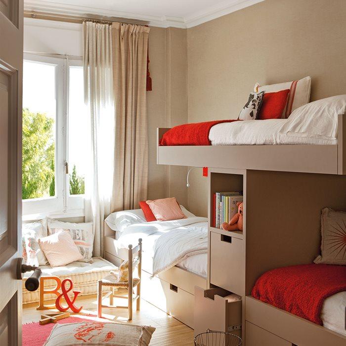 Ideas para pintar la habitaci n de los ni os for Idea de la habitacion de los padres