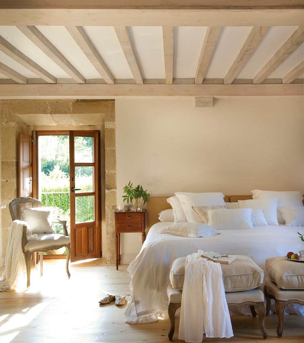 20 dormitorios r sticos con mucho encanto - Cuadros para dormitorios rusticos ...