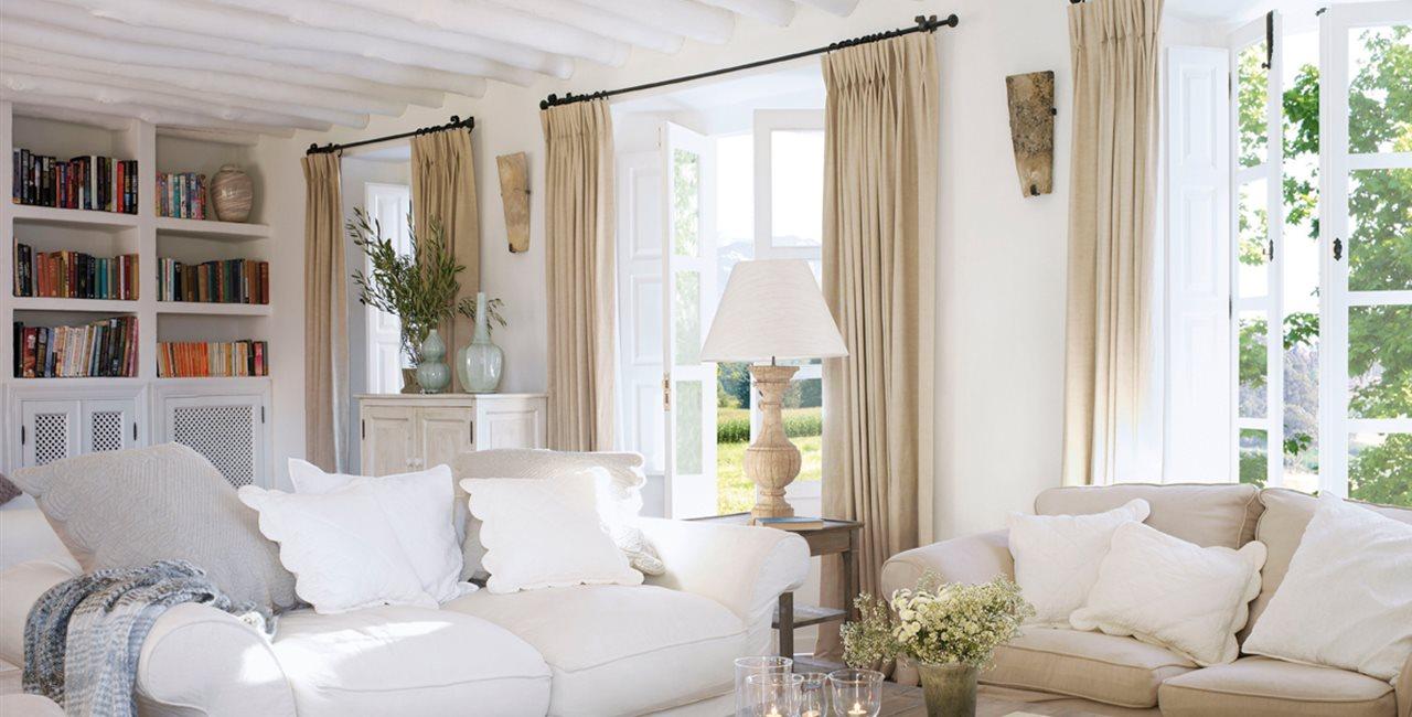 Ventajas de tener un sof blanco - Cojines de salon ...
