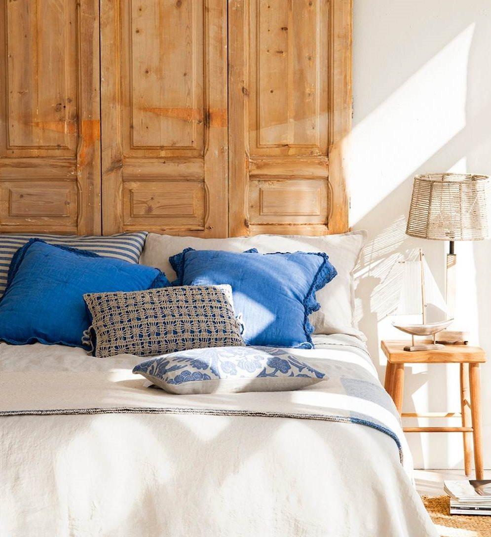 4 Ideas Faciles Y Low Cost Para Personalizar Tu Cabecero - Cabeceros-cama-caseros