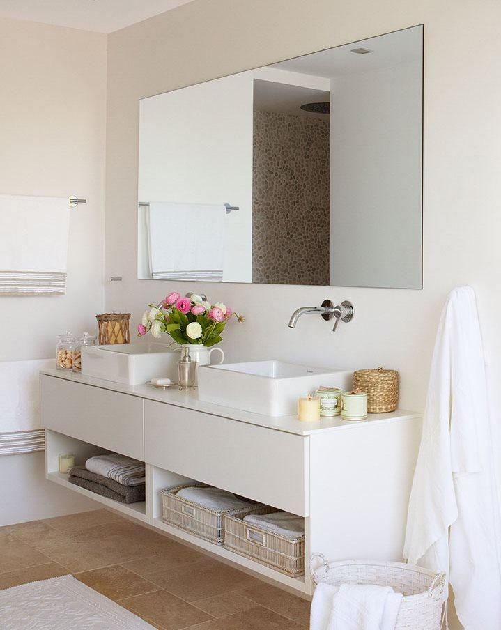 Toallero Baño Pequeno:15 ideas para baños mini: desafía al espacio