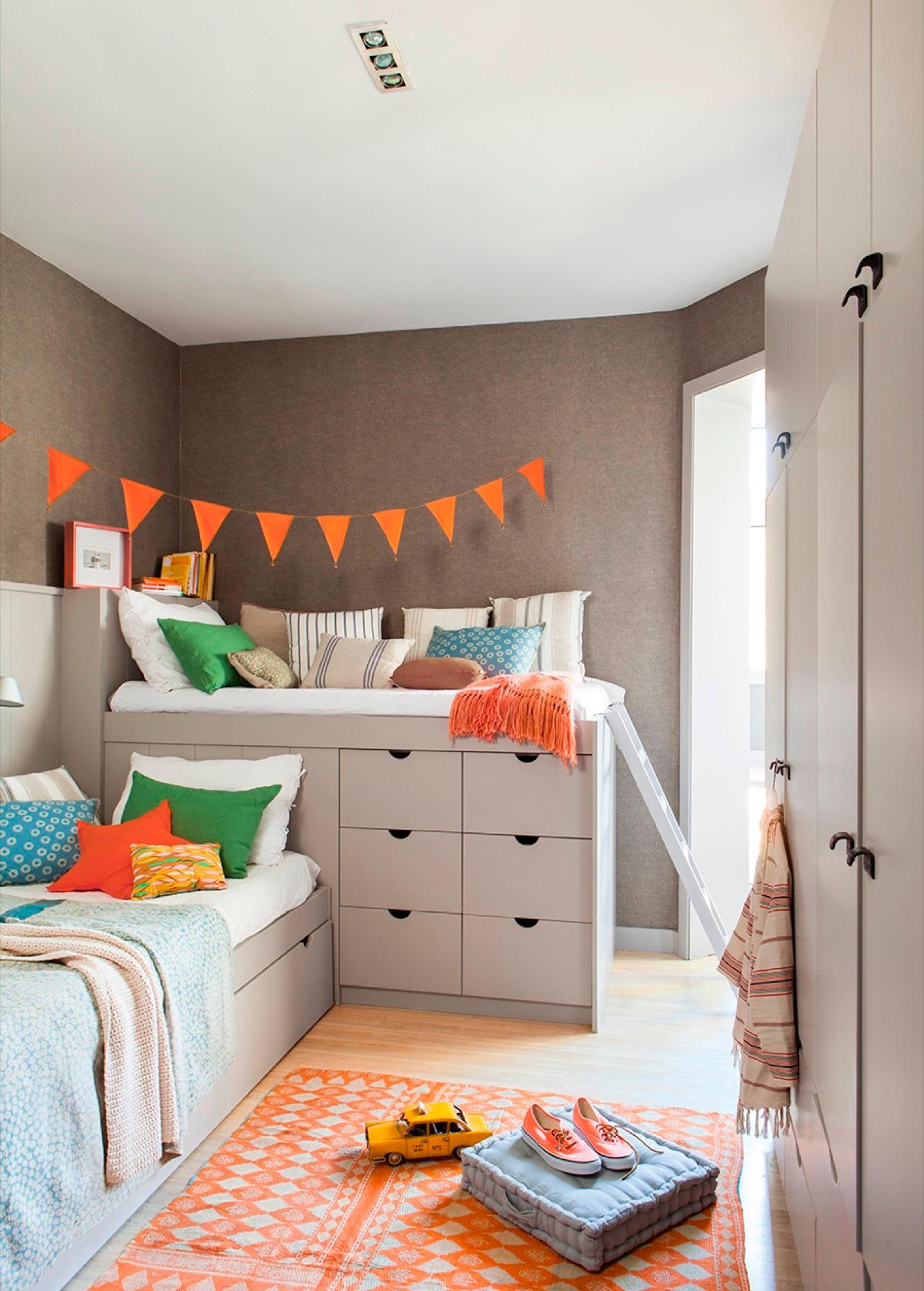 Aprovechar el espacio de tu casa es m s f cil con estos consejos - Disenar dormitorio juvenil ...
