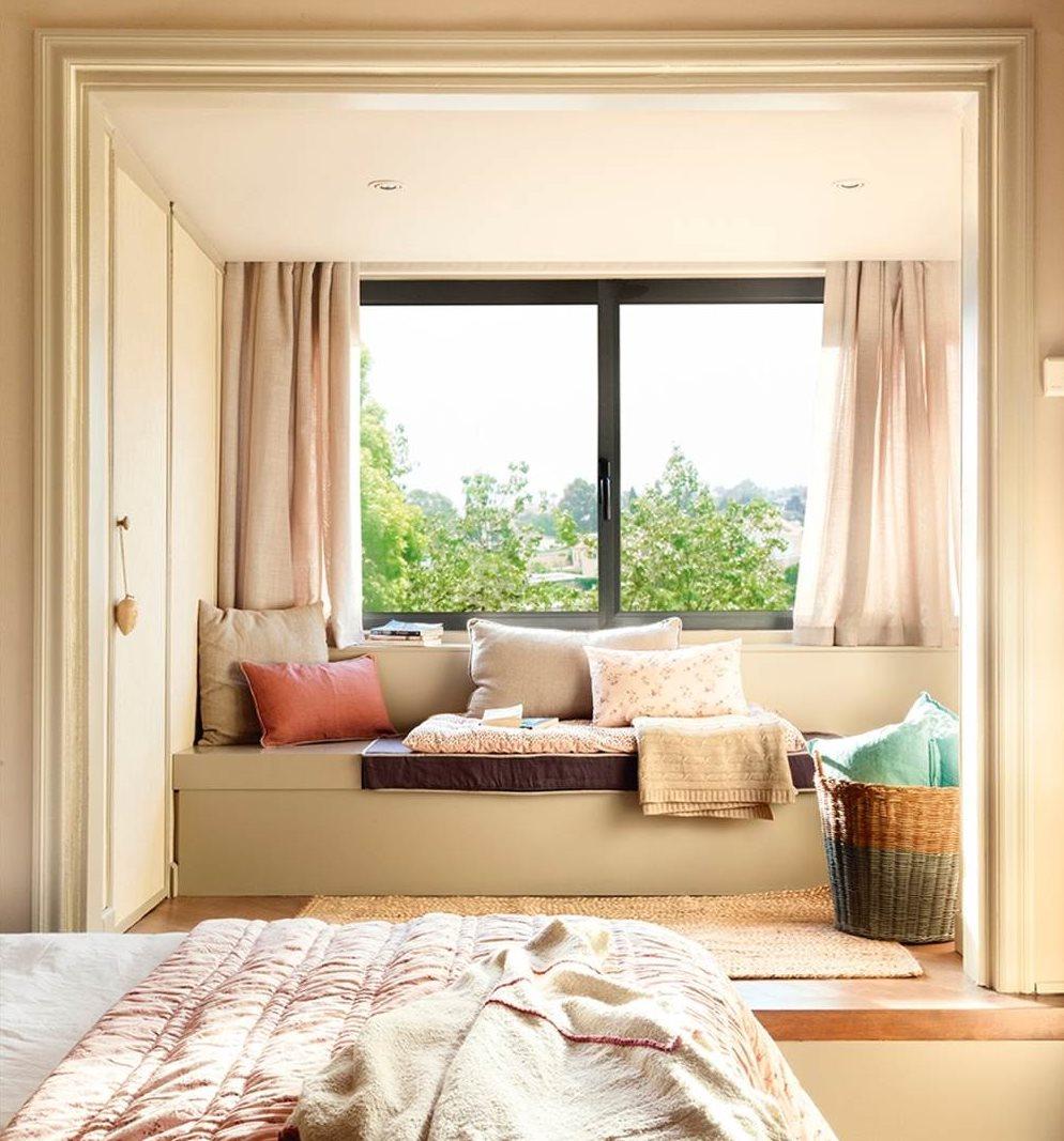 10 ideas para aprovechar el hueco bajo la ventana - Que poner encima de una comoda ...
